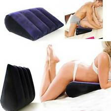 Inflatable Sex Pillow Toys Magic Cushion Triangle Love Position Triangle New