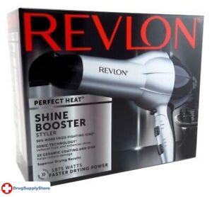 BL Revlon Dryer Shine Booster 1875 Watt Tourmaline W/Diffusr