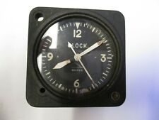 Lot 28: Vintage Wakmann 8 day airplane clock