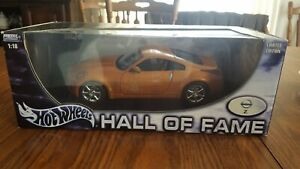 Nissan 350Z Die Cast Model 1:18 Hot Wheels Hall of Fame