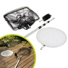 More details for heissner 3 in 1 pond koi fish net with blanketweed string algae cleaning brush