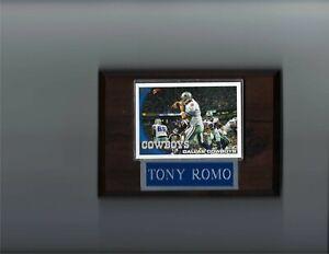 TONY ROMO PLAQUE DALLAS COWBOYS FOOTBALL NFL   C2