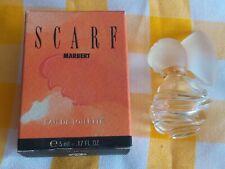MARBERT Scarf Miniature edt 5ml 0,17 floz 80% vol vide + box  (p401)