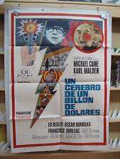 A2157 UN CEREBRO DE UN MILLON DE DOLARES  MICHAEL CAINE KARL MALDEN