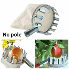 More details for garden metal fruit collector convenient picker applepeach high tree picking tool