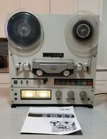 Teac X-10 Reel to Reel Tape Recorder serviced. Great man cave gift.