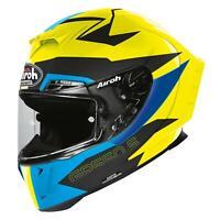 Airoh GP550S Full Face Motorcycle Motorbike Crash Helmet - Vektor Blue Matt