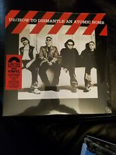 U2 How To Dismantle An Atomic Bomb Red Vinyl 15th Anniversary 180Gr Booklet New