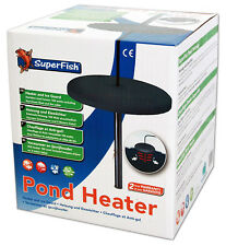 More details for superfish pond heater 150w ice vent freeze guard fish life saver winter koi
