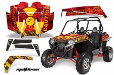AMR Racing Polaris RZR 900XP Sticker Graphic Kit Decal UTV Parts 11-14 MLTDWN Y