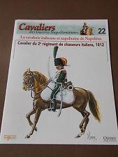 Fascicule N°22 Del Prado Soldat Guerre Napoléon Cavalier 2e Rgt Chasseur Italien