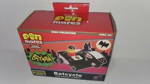 Pin Mates Batcycle with Batman and Robin Collectible Set Convention Exclusive