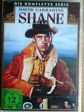 Shane - TV Serie David Carradine - (Kung Fu)- Western NeU 3x DVD