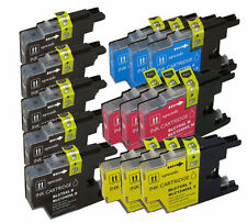 14 Pack LC75 LC71 Ink Cartridges for Brother MFC J280W J425W J430W J435W J625DW