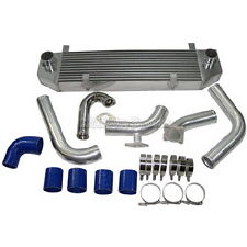CXRacing FMIC Intercooler kit + BOV For 90-94 DSM 1G Eclipse Talon
