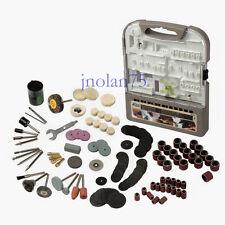 200 pc Rotary Multi Tool  Accessory Kit: Cut Grind Polish Sand Drill Set Dremel