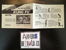 Notice/Mode d'emploi/Manuel Kung Fu European version Nintendo NESE-P-SX
