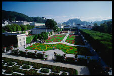 222075 The Formal Mirabell Palace Gardens Salzburg A4 Photo Print