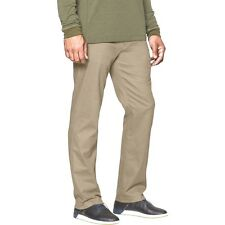 UNDER ARMOUR Men's Performance Chino Straight Leg Pants Canvas Tan 42W X 34L