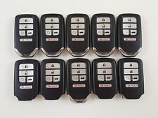 LOT OF 10 HONDA CIVIC 16-20 SMART LESS ENTRY REMOTE START OEM 5-BUTTON POWER FOB