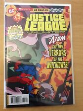 JUSTICE LEAGUE UNLIMITED 3 & 4, NM (9.2 - 9.4), 1ST PRINTS, CARTOON NETWORK