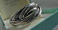 F A B! 39g sterling silver 925 N.S. Bar-On Israel modernist cuff bangle bracelet