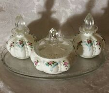 Extremely RARE Limited Ed.  Fenton Perfume Set with Tray PERFECT MINT CONDITION