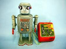 50's Masudaya R-35 robot electric remote control Vintage Rare Not Operation
