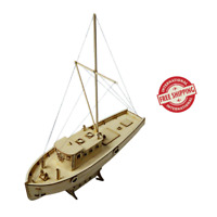Model Sailing Boat 1 30 Ship Diy Wooden Assembly Kits Scale Kit Decoration Gifts
