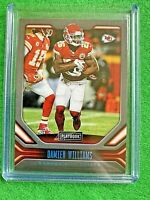 DAMIEN WILLIAMS CARD JERSEY #26 CHIEFS SP /49 2019 PANINI - PLAYBOOK FOOTBALL SP