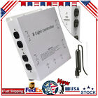 MLC HID Light Control Box 50A 120V/240V 4000W/8000W 8 Outlet w/Trigger Cord New picture