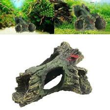 Large Aquariums Decoration Dead-Wood Trunk Hole for Fish Tank Ornament Decor New