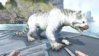 ARK Survival Evolved PS4 PVE Top stats Thylacoleo 21.9k hp and 1125 m (Thyla)