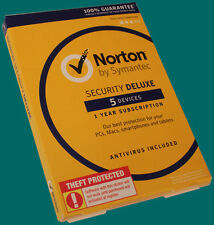 Norton Security Deluxe AntiVirus for 5 Devices