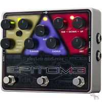 Electro-Harmonix Epitome Harmony Flanger Reverb Multi-Effects Guitar Pedal EHX