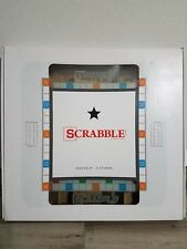 Scrabble Deluxe Tempered Glass Board Game *BRAND NEW SEALED*