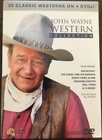 John Wayne Western Collection: 20 Classic 4 Pack (DVD, 2011, 4-Disc Set). (NEW)