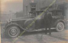RPPC voiture ancienne