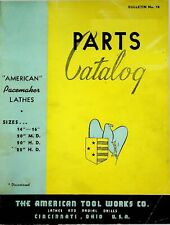 1949 American Pacemaker Lathes Radials Shapers 14 22 Parts Catalog 18