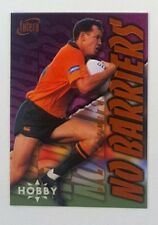 1996 Futera Rugby Union Hobby No Barriers insert card #NB9 Damian Smith