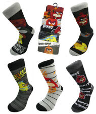 Adult Angry Bird Socks Five Pack Multi Pack Sock UK 6-11 EUR 39-42 US 7-9