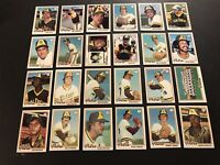 1978 Topps SAN DIEGO PADRES Complete TEAM Set DAVE WINFIELD Rollie FINGERS