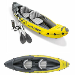 INTEX K2 Explorer Schlauchboot Kajak, 2 Sitzer, NEU