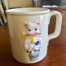 Vintage BUTTERCUP The Cow Mug For SHAFFORD 1979 by B.S.J. Japan