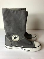 Converse Chuck Taylor Women's Canvas Boots, US Size 6, Gray