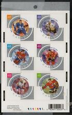 Canada  Sc 1972 2003 Hockey All Stars self adhesive booklet pane mint NH