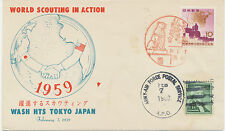 """2473 1959 SCOUTING-Special Flight with ARMY-AIR FORCE POSTAL SERVICE """"USA-TOKYO"""