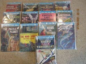 Lot of 13~ACE DOUBLE SCIENCE FICTION PAPERBACKS - D SERIES