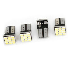 T10 W5W weisse Canbus 1206 12-SMD Auto LED Gluehbirnen Lampe 12V 4 Stueck L3K2