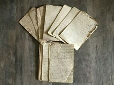 1885 Handwritten Diary Tryon & Libby Family Powal Cumberland Co Maine Pioneers